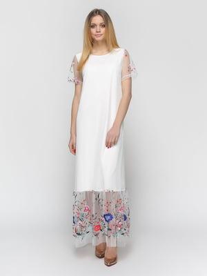 Сукня молочного кольору   4891491