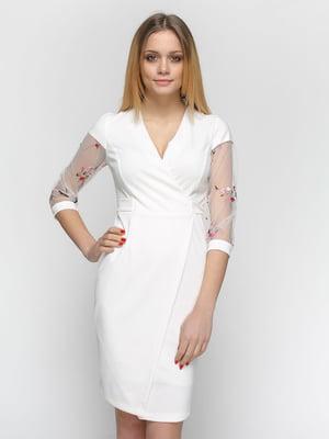 Сукня молочного кольору   4891488