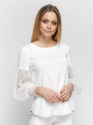 Блуза молочного цвета | 4891458