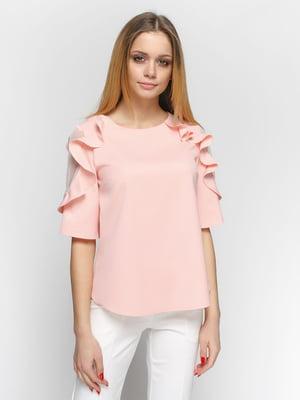 Блуза рожева | 4891447