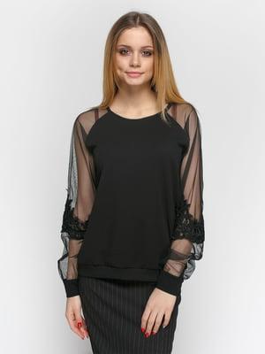 Блуза черная | 4891466