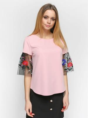 Блуза розовая | 4891448