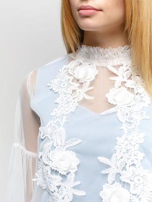 Блуза молочного кольору | 4891455