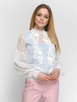 Блуза молочного цвета | 4891455