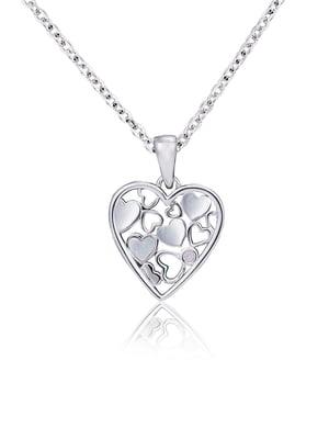 Подвеска «Сердце малое мозаика» | 4875736