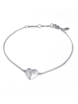 Браслет «Сердце малое объемное» | 4875749