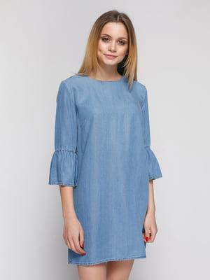 Платье голубое | 4873457