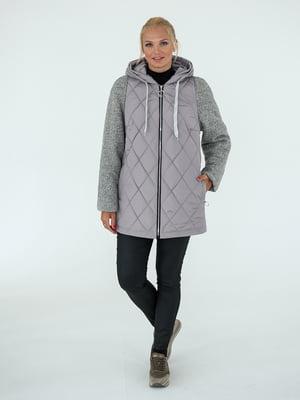Куртка сіра | 4896817