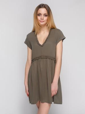 Платье цвета хаки | 4874077
