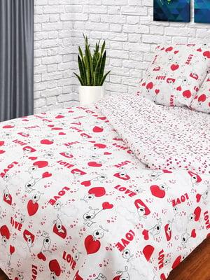 Комплект постельного белья двуспальный | 4896772