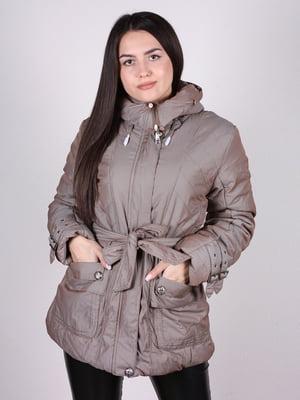 Куртка бежевая | 4897401