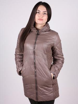 Куртка кофейного цвета | 4897413