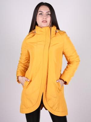 Пальто желтое | 4897433