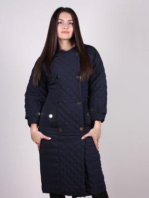 Пальто темно-синее | 4897438