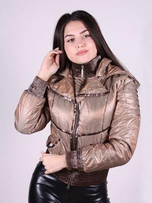 Куртка коричневая | 4897439