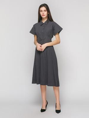 Платье графитового цвета | 4873844
