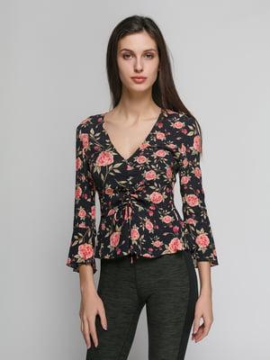 Блуза в цветочный принт   4873891
