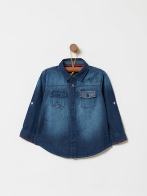 Сорочка синя | 4886412