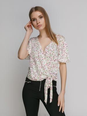 Блуза в цветочный принт | 4873914