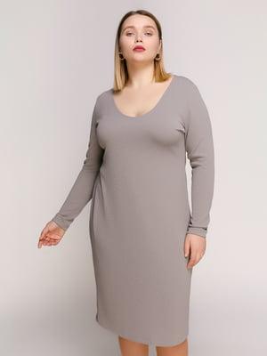 Сукня сіра | 4894195