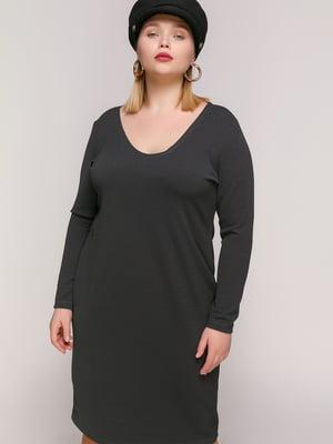 Платье темно-серое | 4894196