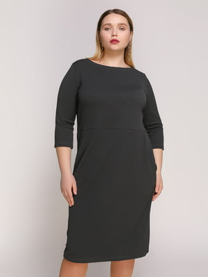 Платье темно-серое | 4894202