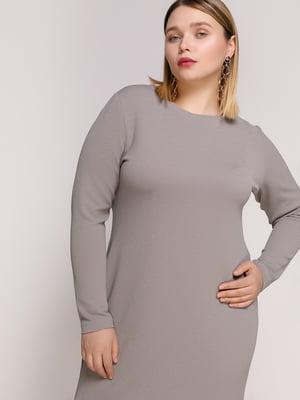 Платье серое | 4894198