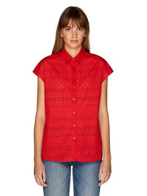 Рубашка красная | 4895231