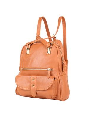 Рюкзак рудого кольору | 4872875