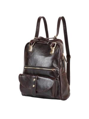 Рюкзак темно-бордовий | 4872877