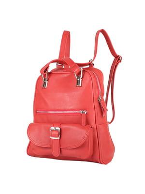 Рюкзак червоний | 4872879