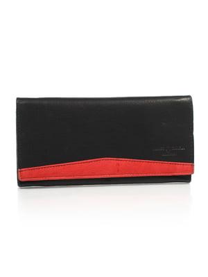 Гаманець чорно-червоний | 4897689