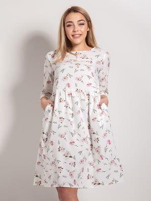 Сукня в квітковий принт | 4898531