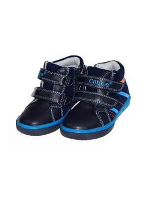Черевики темно-сині   4898580