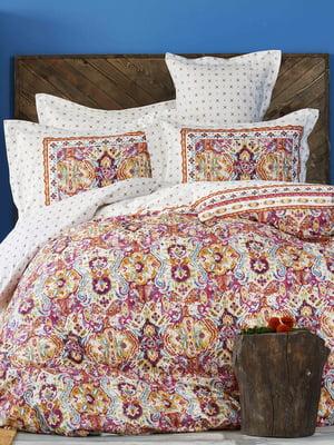 Комплект постельного белья двуспальный (евро) | 4897894