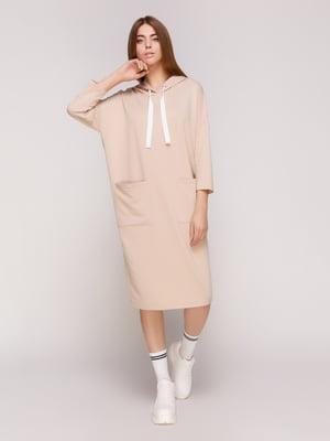 Платье бежевое | 4887012