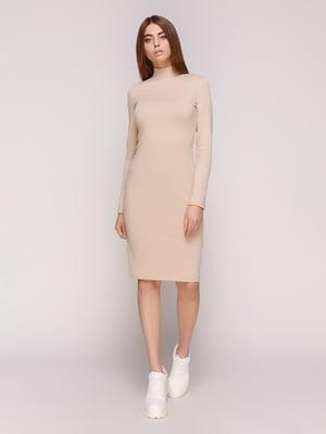 Платье бежевое | 4887014