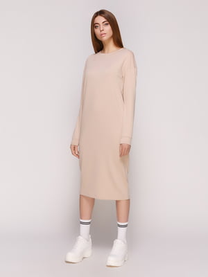 Платье бежевое | 4887016
