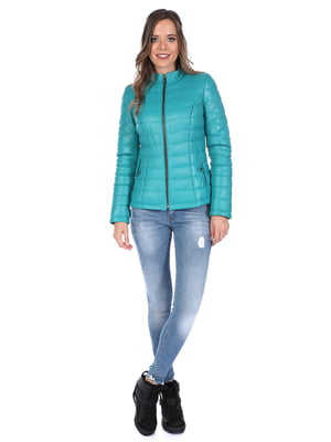 Куртка бирюзовая | 4901602