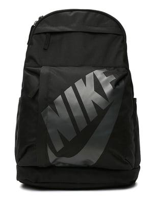 Рюкзак черный с принтом | 4901889