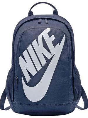 Рюкзак синий с принтом | 4901893