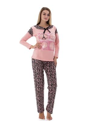 Піжама: лонгслів і штани   4901951