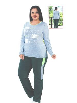 Піжама: лонгслів і штани   4902007