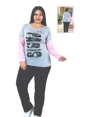 Піжама: лонгслів і штани   4902008