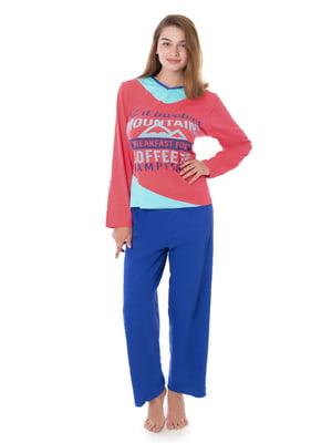 Піжама: лонгслів і штани   4902009