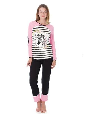 Комплект домашній: лонгслів і штани   4902017