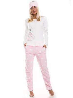 Піжама: лонгслів, штани і маска   4902057
