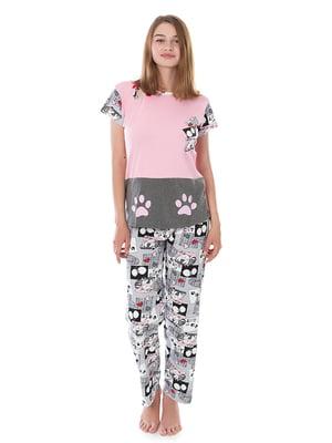 Піжама: футболка і штани   4902068