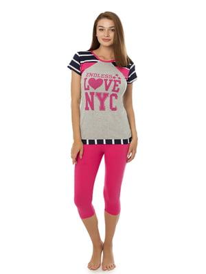 Комплект домашній: футболка і шорти   4902073
