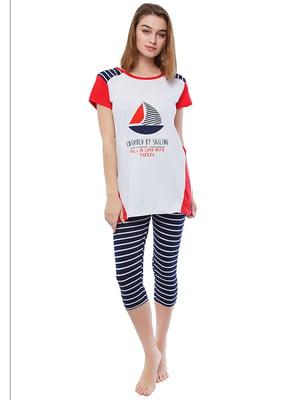 Комплект домашній: футболка і шорти   4902075